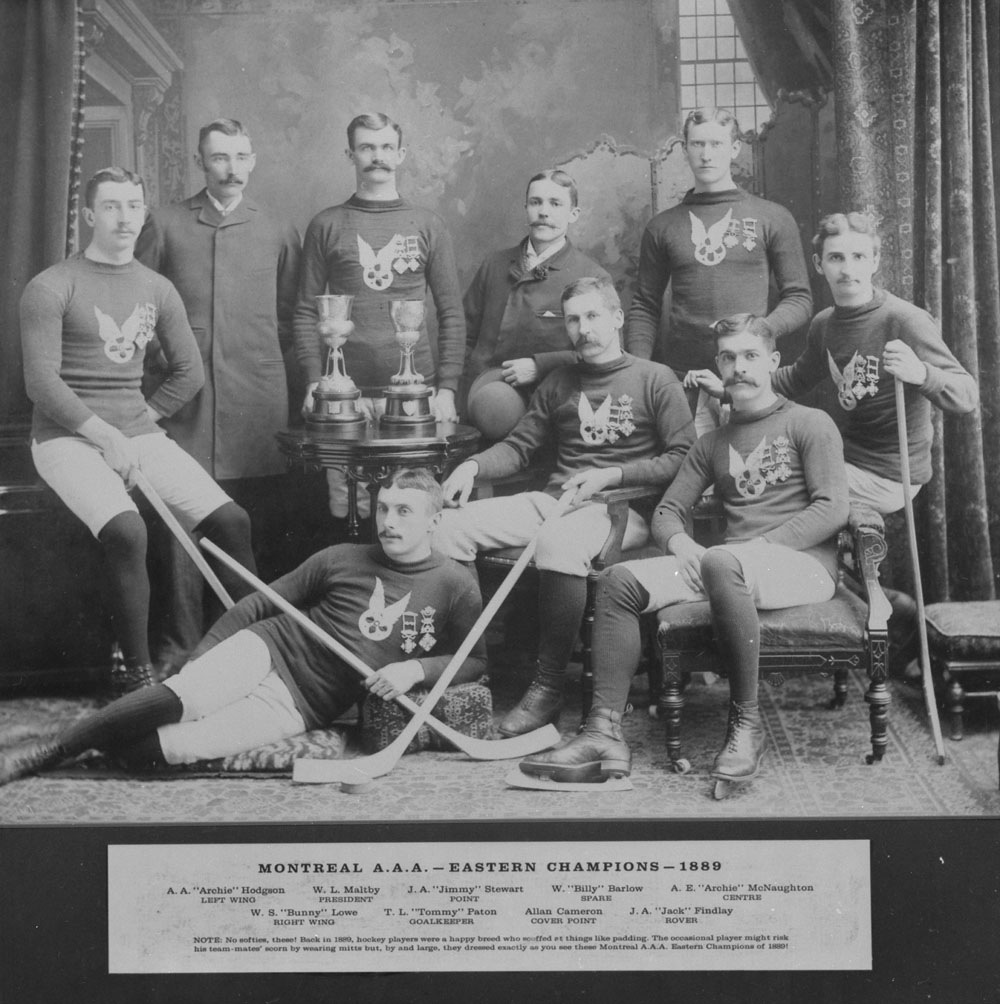 Montreal AAA Hockey Club, 1889