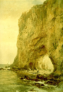 Percé Rock (Painting)