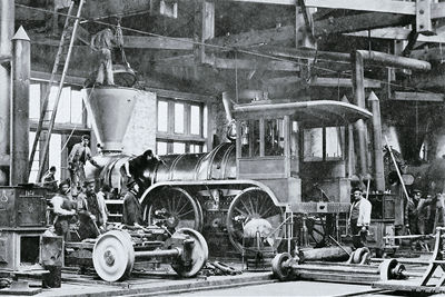 Usine de locomotives
