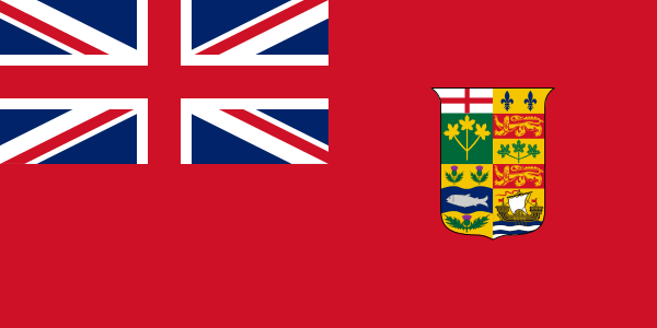 Le Red Ensign canadien (1871-1921)