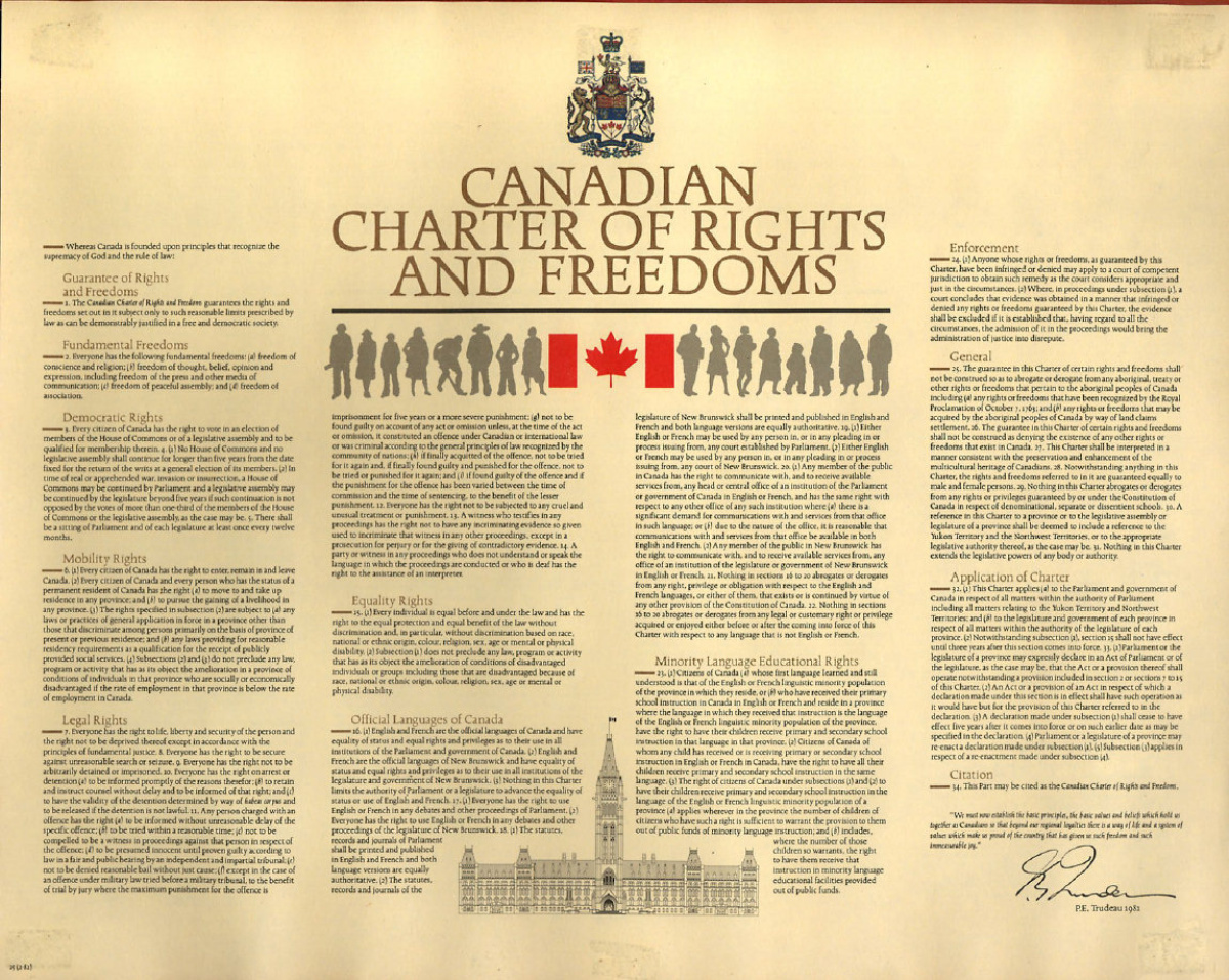 canadian charter of rights and freedoms | the canadian encyclopedia