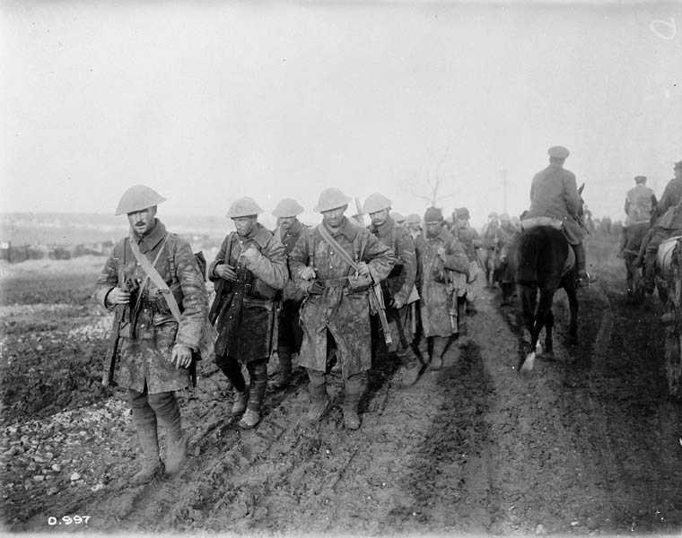 Canadian soldiers, Battle of Somme