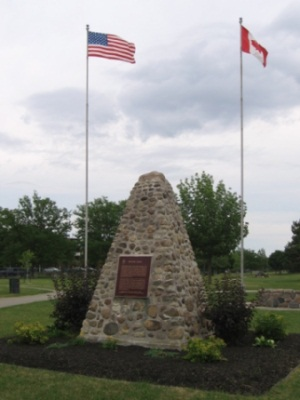 The Battle of Beaver Dams, Monument