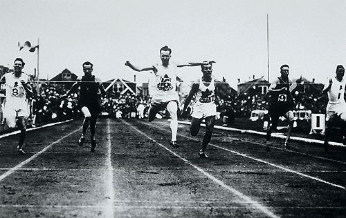 Percy Williams, sprinter