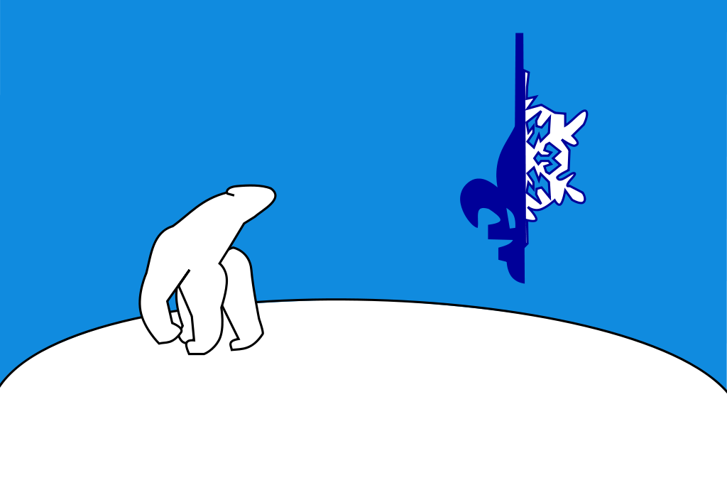 Flag of Franco-Tenois