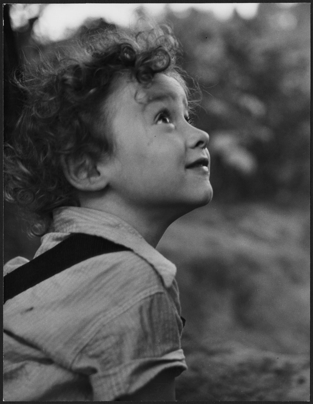 French Immigrant Boy, Toronto, 1955