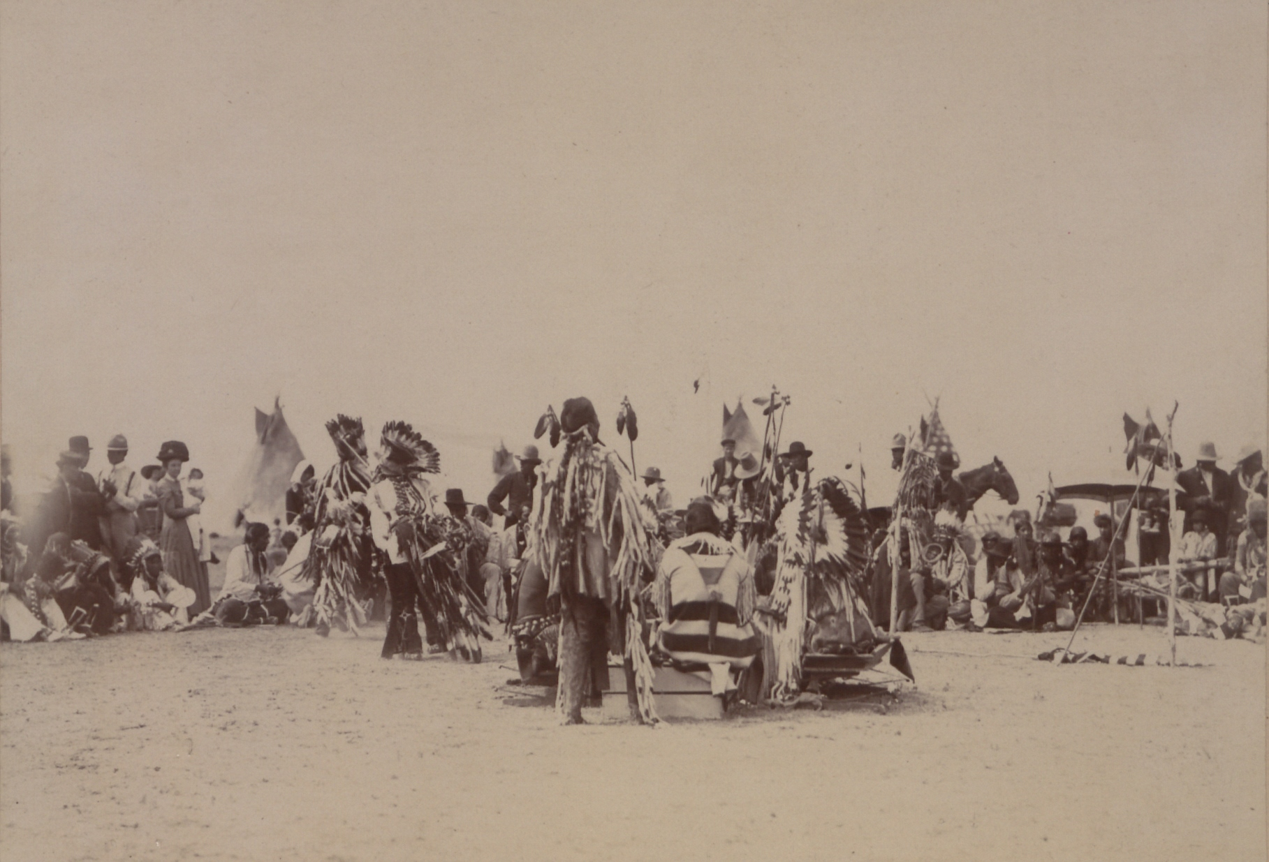 Blood (Kainai) Pow-wow Dance (Group No. 2)