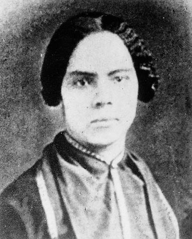Mary Ann Shadd Cary, ca. 1845-55.
