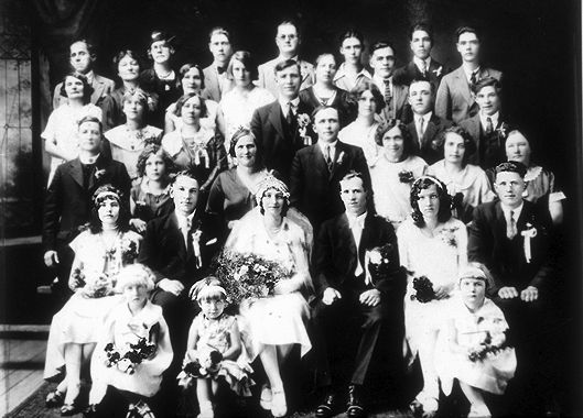 Polish Wedding, 1930s