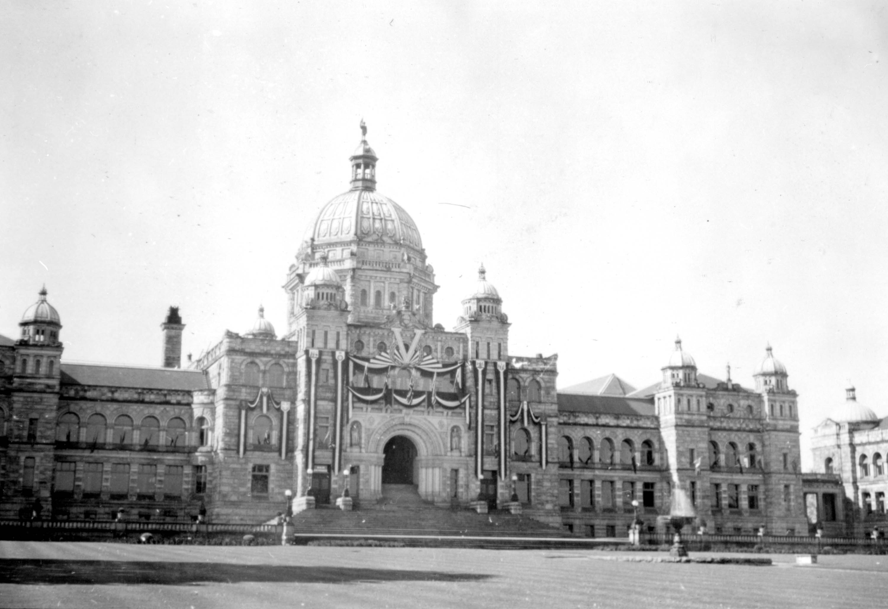 VE-Day in Victoria