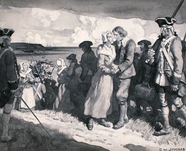 Embarkation of the Acadians, 1755