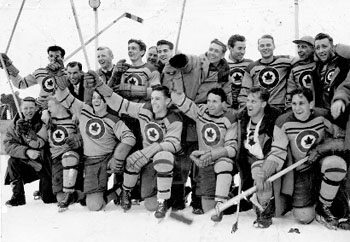 RCAF Flyers, Olympic Hockey, 1948