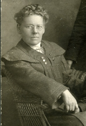 Margret Benedictsson, vers 1905