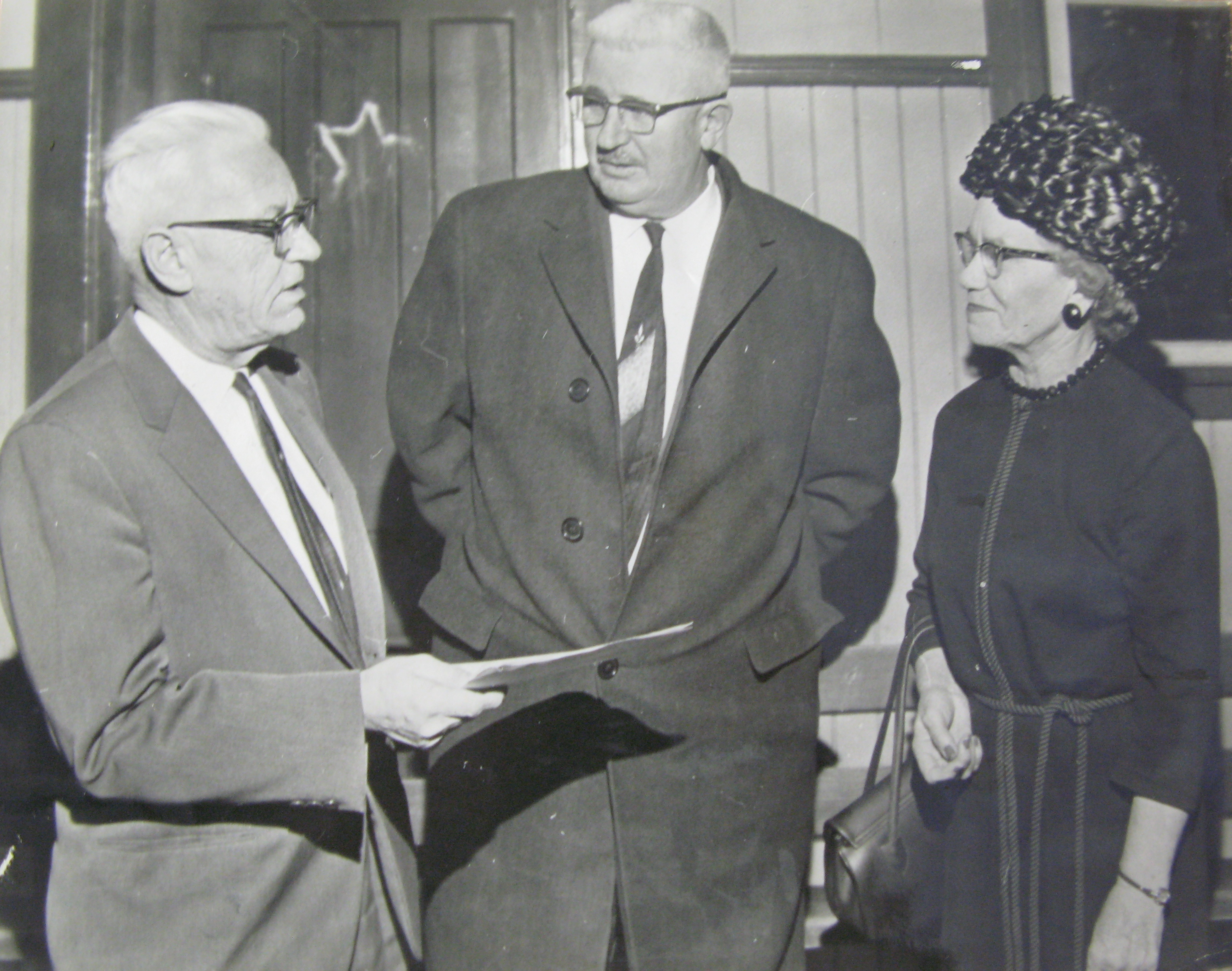 Elsie Gibbons, Warden of Pontiac County from 1959 to 1961.