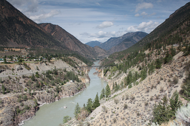Fraser River, Lillooet, British Columbia