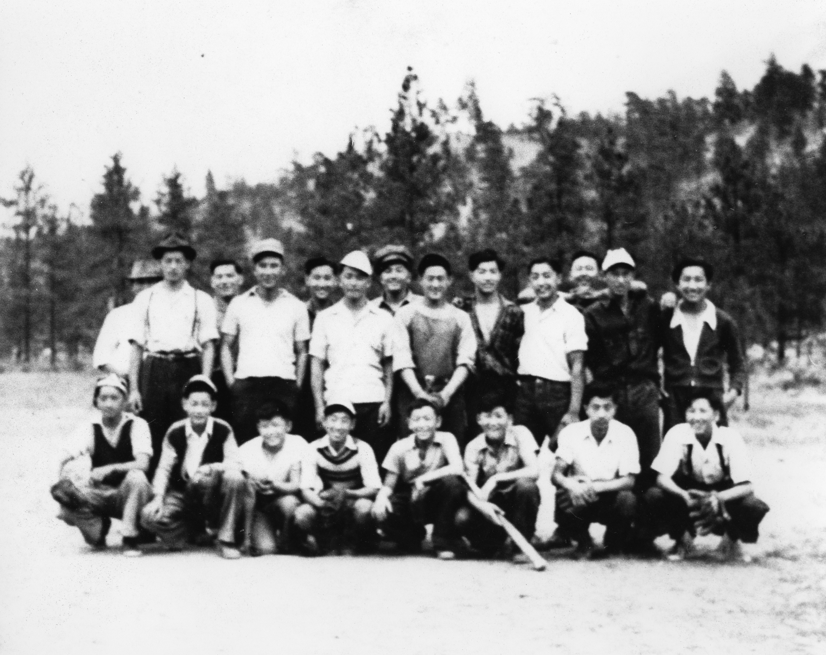 East Lillooet Softball Team