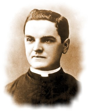 Father Michael J. McGivney founder of the Knights of Columbus