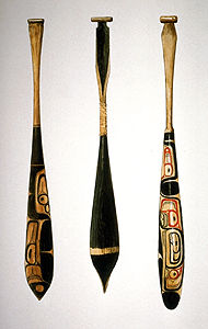 Northwest Coast Paddles
