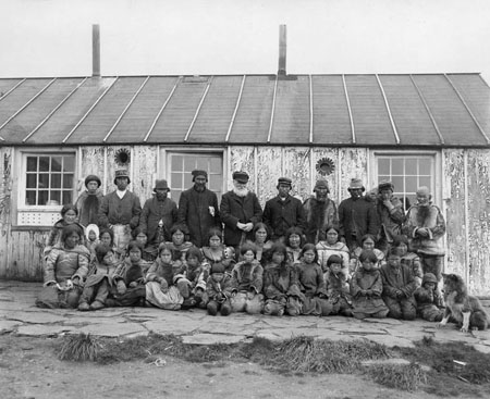 Inuit and Reverend Peck