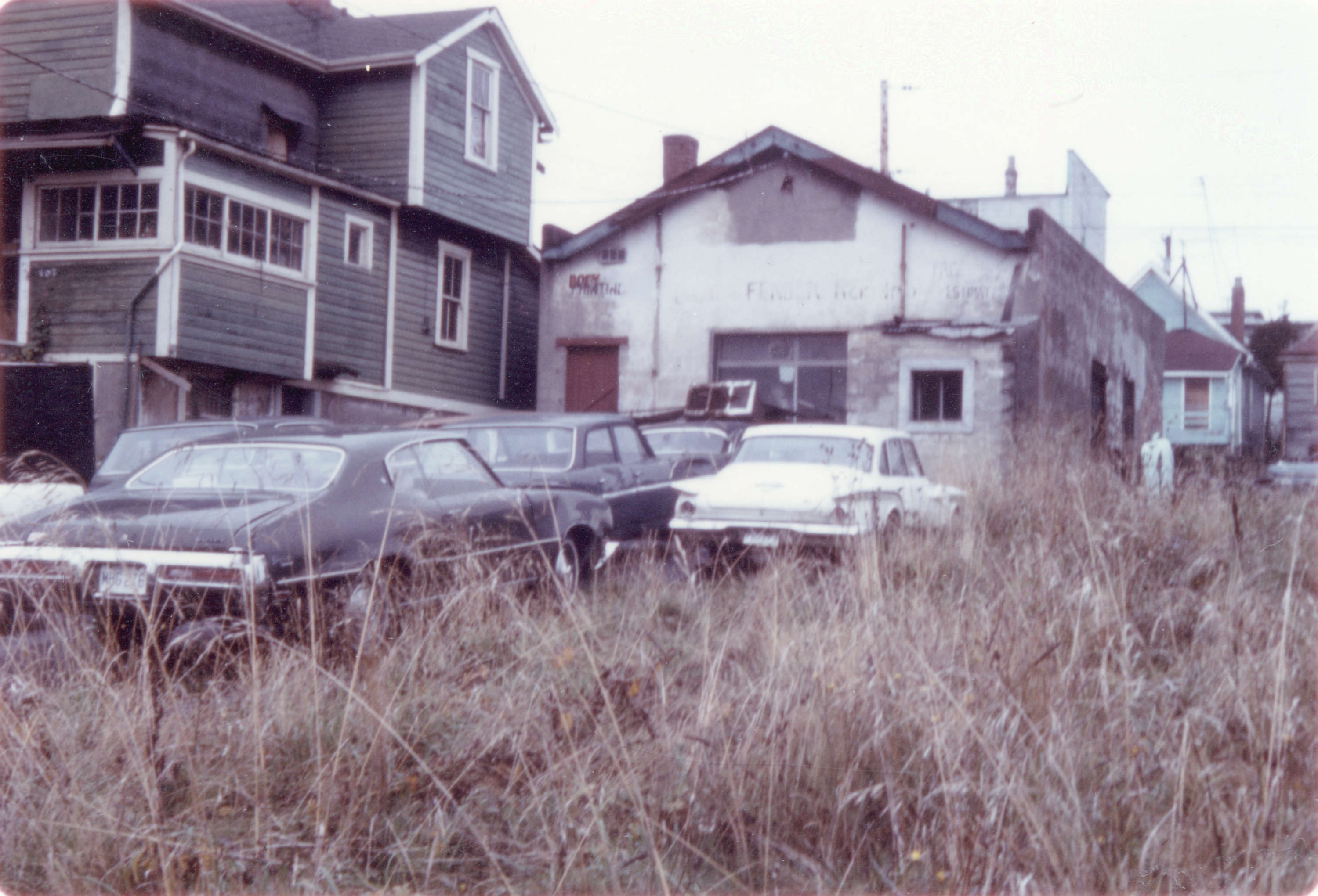 413 Prior St in Hogan's Alley, 1973, Vancouver, B.C.
