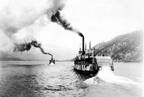 Steamers on Kootenay Lake
