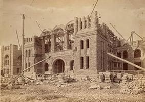 Ontario Legislature Under Construction