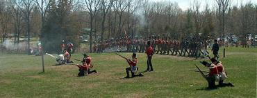 Battle Hill, Reenactment