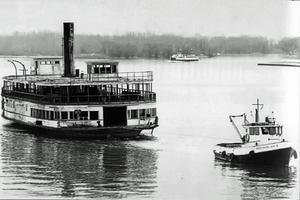 Trillium Being Towed