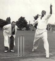 Frederick Heather, cricket player and umpire
