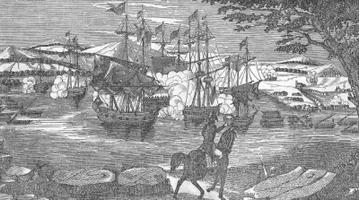 The Battle of Plattsburgh, Death of Commodore Downie