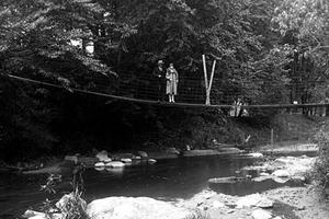 Footbridge Over Highland Creek