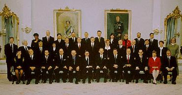 Federal Cabinet, 1996