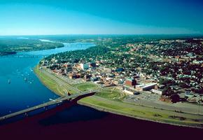 Fredericton from the Air