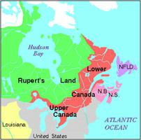 Map Of Canada 1870.Rupert S Land The Canadian Encyclopedia