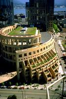 Vancouver Library Square (Aerial)