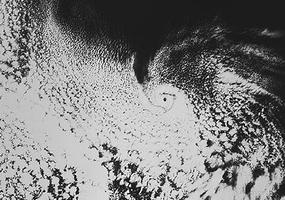 Storm Pattern over Davis Strait