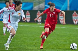Christine Sinclair, soccer player