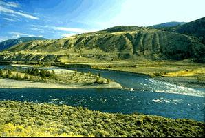 Fraser River near Lytton