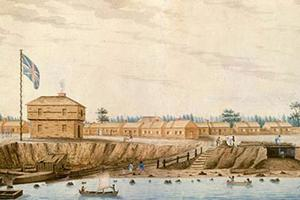 York Barracks, 1804