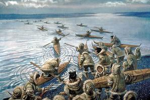 Inuit Whale Hunt