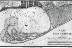 Plan of York Harbour
