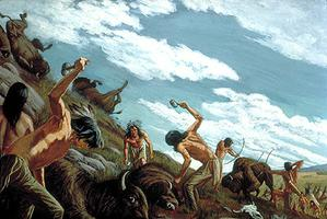 Buffalo Hunt, Finishing the Kill