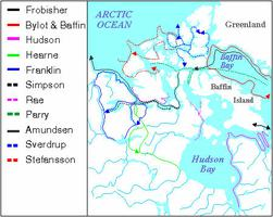 Arctic Exploration, Map