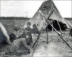 Slavey Indian Camp