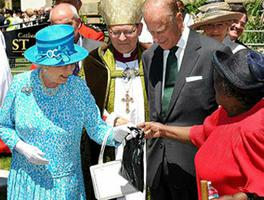 Royal Visit to St James
