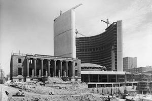 New City Hall under Construction