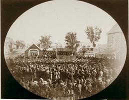 Nomination Meeting, 1858
