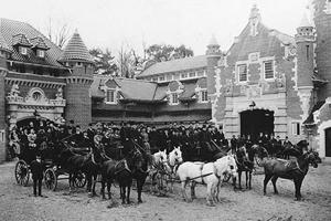 Casa Loma Stables, Exterior, 1915