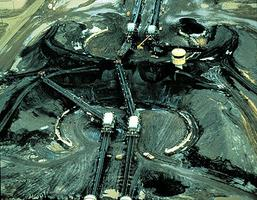 Mining the Oil Sands