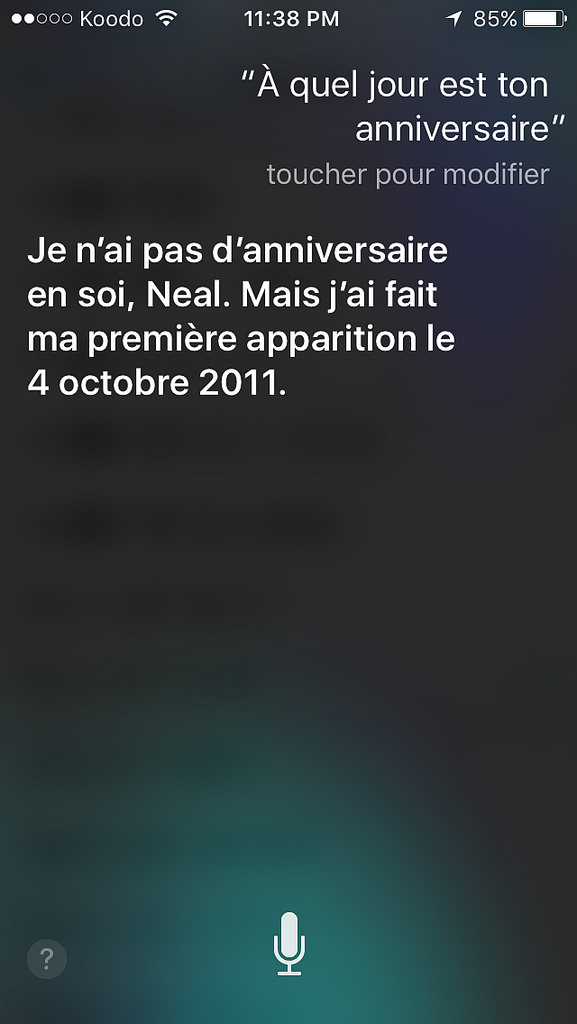 Siri par Apple